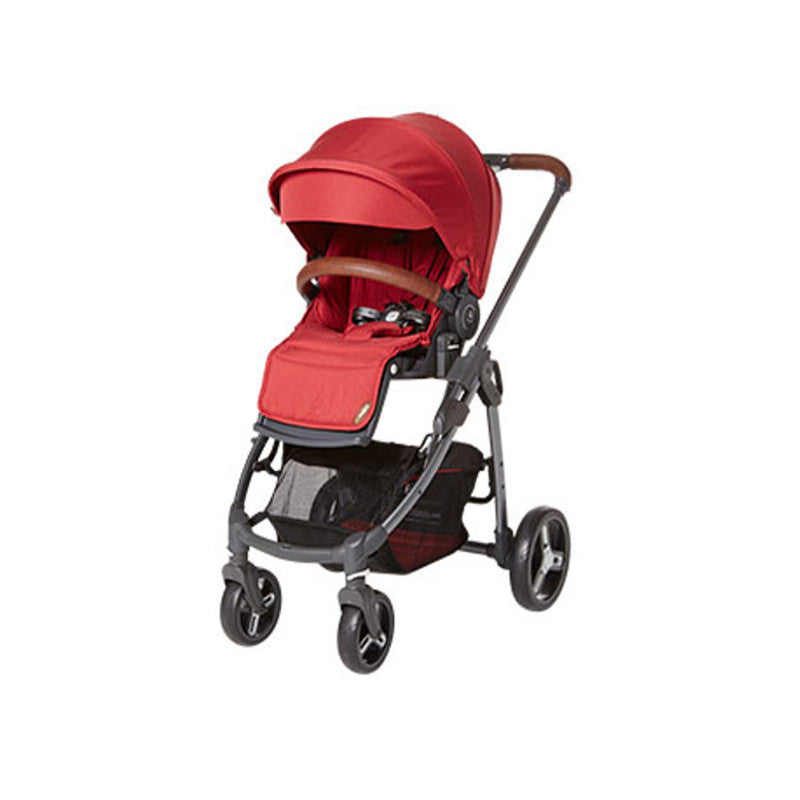 Fedora L5 Stroller  - Red - Little Baby