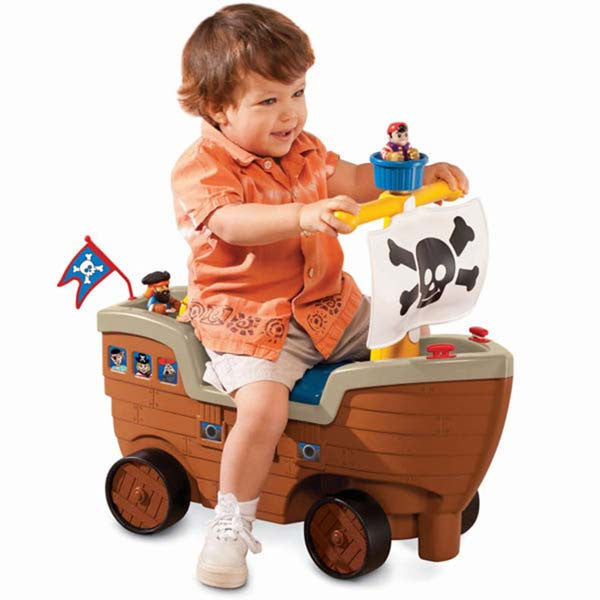 Little Tikes 'Play 'n Scoot PIRATE SHIP - Little Baby