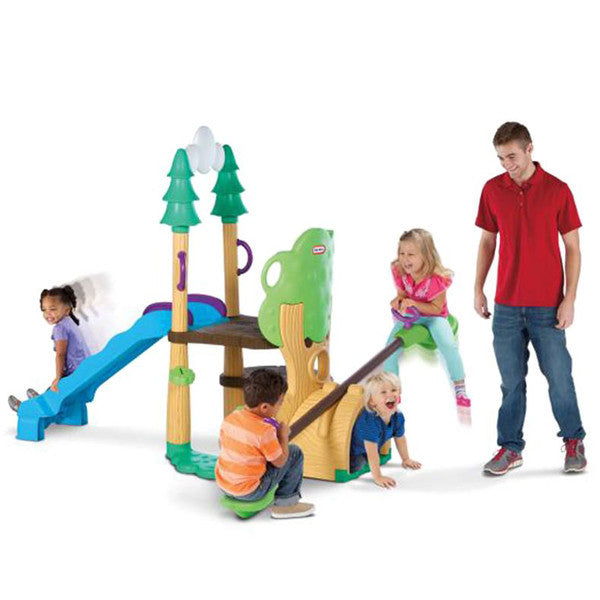Little Tikes 1,2,3 CLIMBER/SEE SAW/SLIDE - Little Baby
