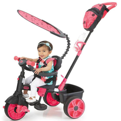 Little Tikes 4-in-1 Trike DELUXE EDITION NEON - PINK