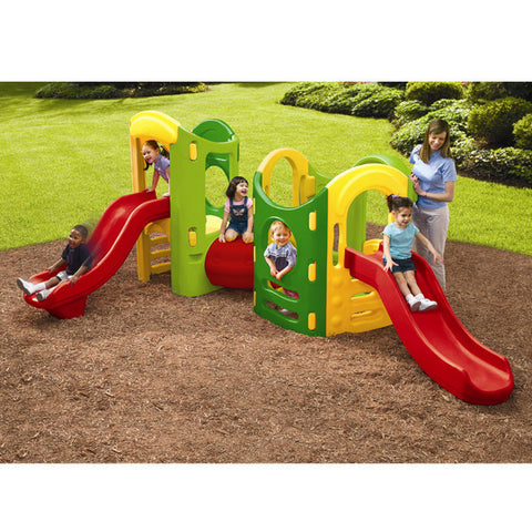 Little Tikes 8-in-1 ADJUSTABLE PLAYGROUND - Green