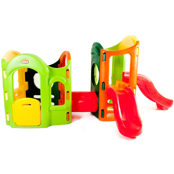 Little tikes 8 in 1 adjustable playground green for Little tikes 8 in 1