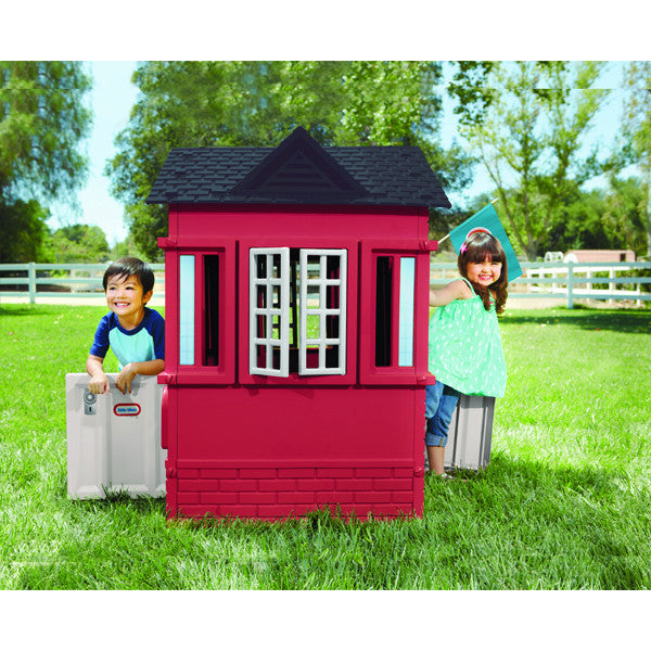 Little Tikes Cape Cottage Playhouse™ - Red - Little Baby