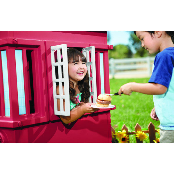 Little Tikes Cape Cottage Playhouse™ - Red - Little Baby Singapore - 5