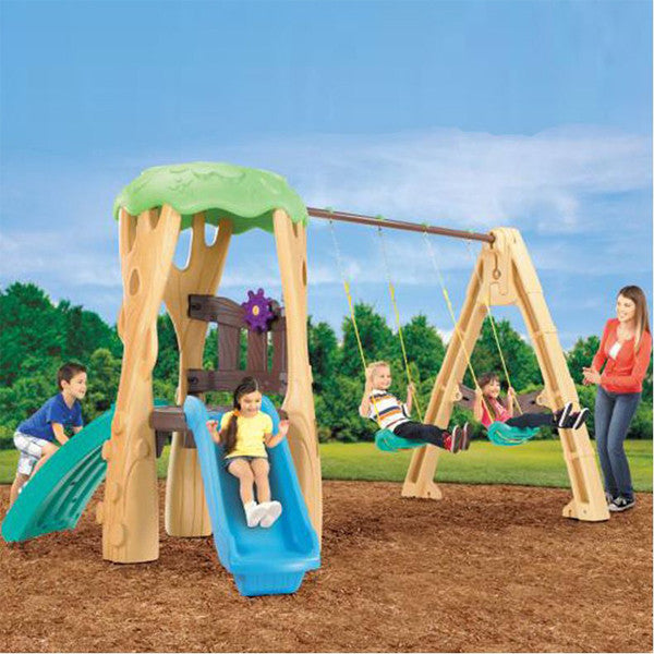 Little Tikes TREE HOUSE SWING SET - Little Baby Singapore - 1
