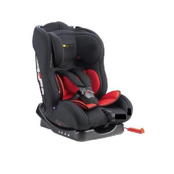 Bonbebe Luxury Rider Car Seat (GRP 0,1,2) Black Red - Little Baby