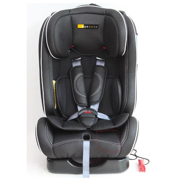 Bonbebe Luxury Rider Car Seat (GRP 0,1,2) Black - Little Baby