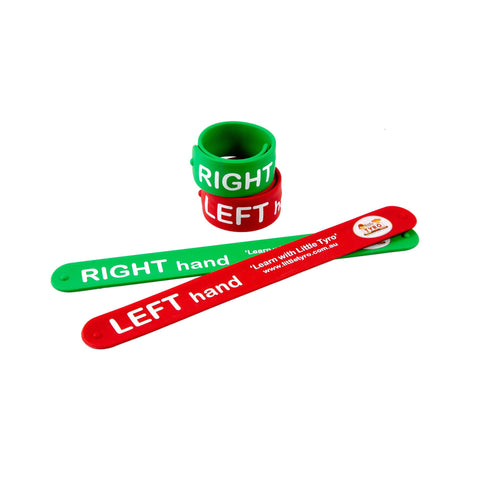 Little Tyro Left and Right Slap Bands