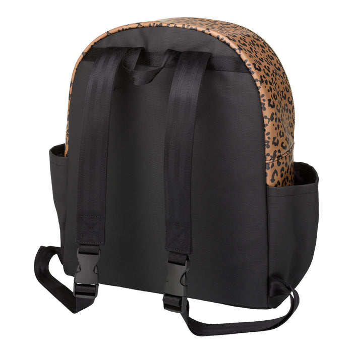 Petunia Pickle Bottom District Backpack: Leopard Leatherette