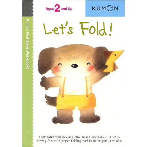 Kumon Books - Let's Fold!