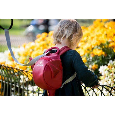 LittleLife Toddler Backpack with Safety Rein – Dragon