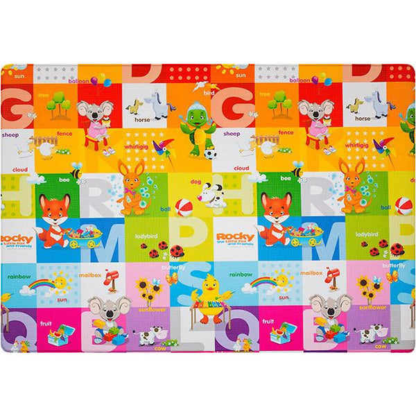 Dwinguler Little Friends Theme Playmat (Size M) - Little Baby Singapore - 1