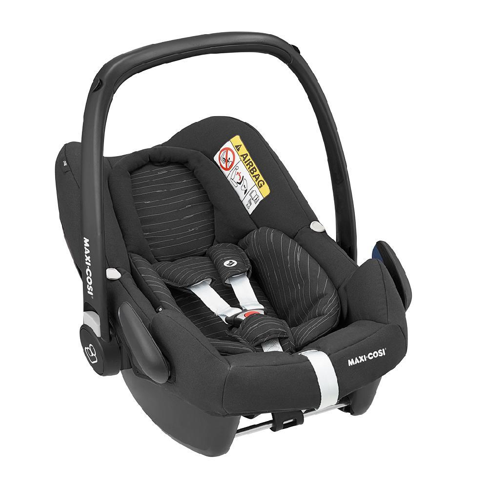 Maxi Cosi (10) Rock Baby Car Seat - Scribble Black