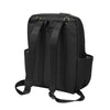 Petunia Pickle Bottom Method Backpack: Black Leatherette