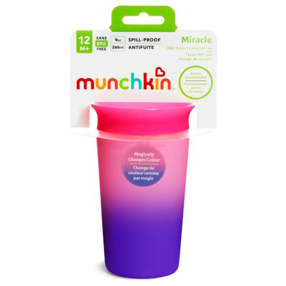 Munchkin Miracle® 360° Colour Changing Cup - 9oz