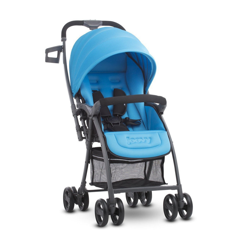 Joovy Balloon Single Stroller (Blue) - Little Baby