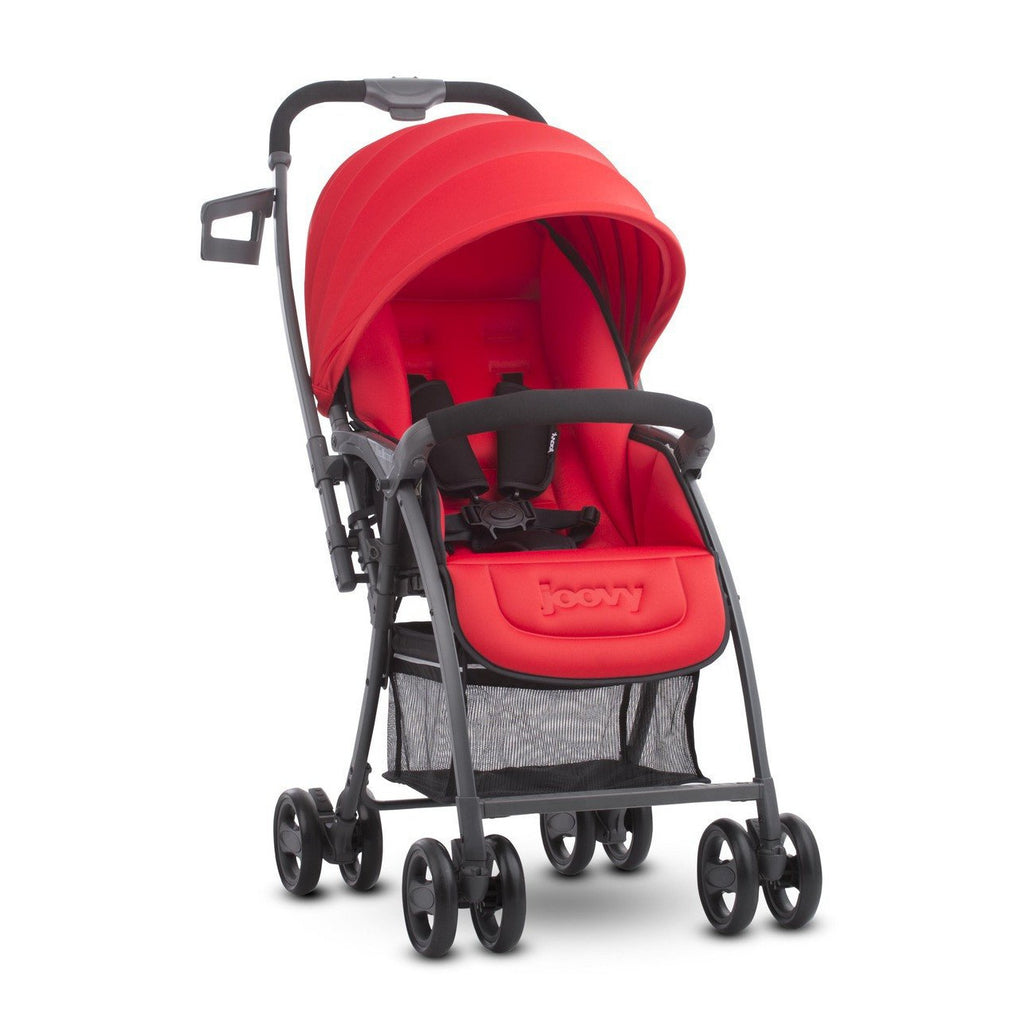 Joovy Balloon Single Stroller (Red) - Little Baby