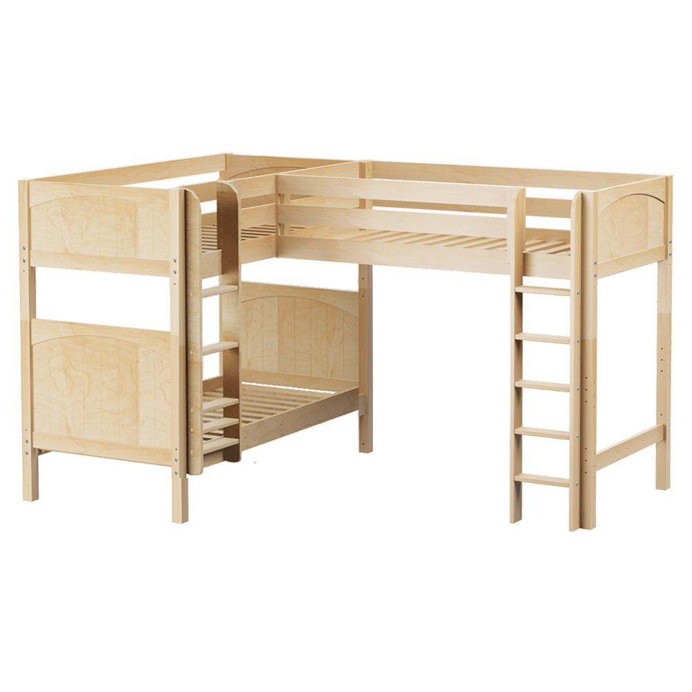 Maxtrix Corner High Loft Bunk (Straight/Mounted)
