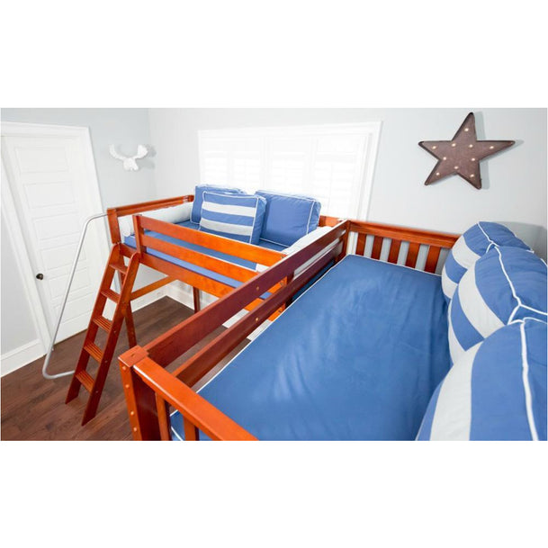 Maxtrix Corner Quad Low Bunk (Mounted/Staircase)