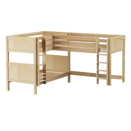 Maxtrix Corner Mid Loft Low Bunk (Straight/Mounted)
