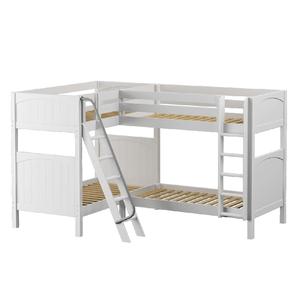 Maxtrix Corner Quad High Bunk (Mounted/Angled)