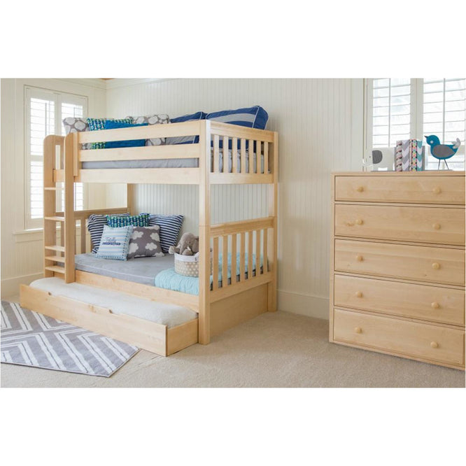 Maxtrix High Bunk w Mounted Ladder (w Pullout)