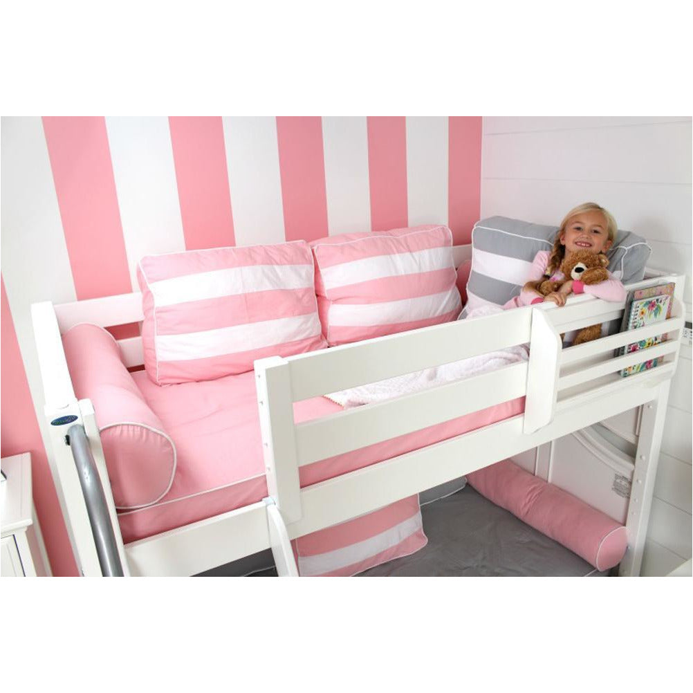 Maxtrix Low Bunk w Staircase w Curtains