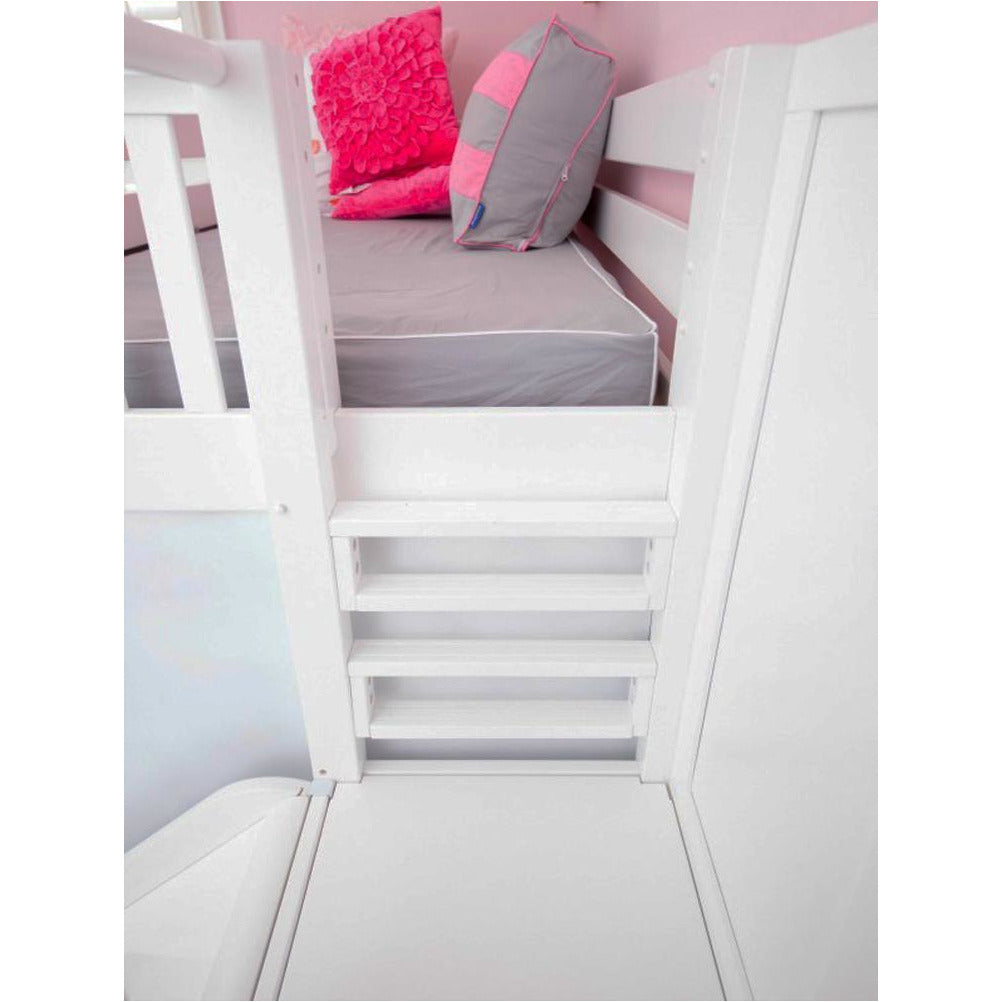 Maxtrix High Bunk w Side Slide (w Pullout)