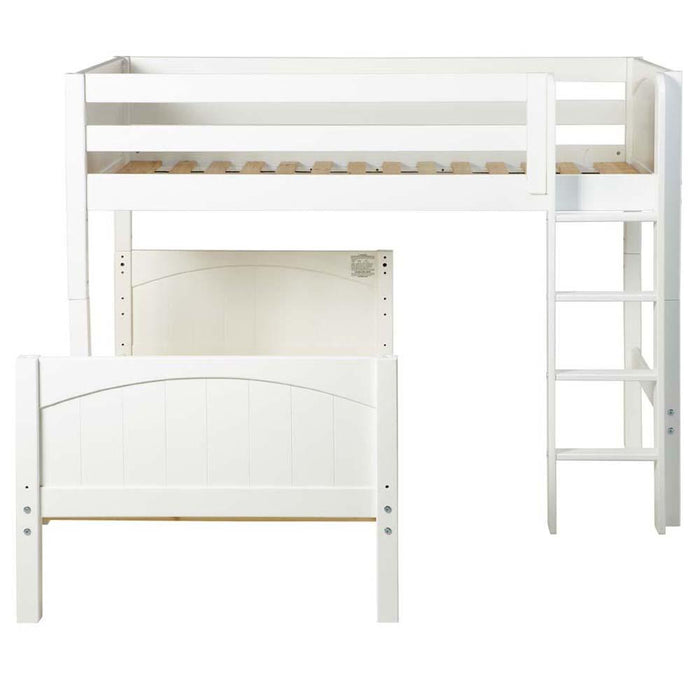 Maxtrix L-Shape Bed w Straight Ladder