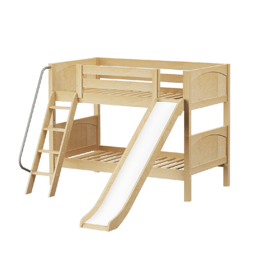 Maxtrix Low Bunk w Angled Ladder w Slide