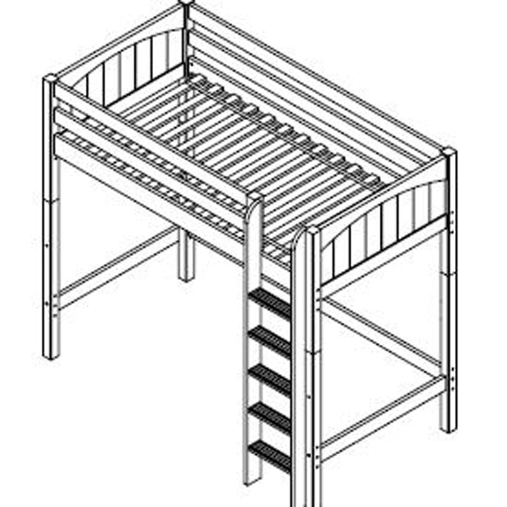 Maxtrix Ultra High Loft w Straight Ladder