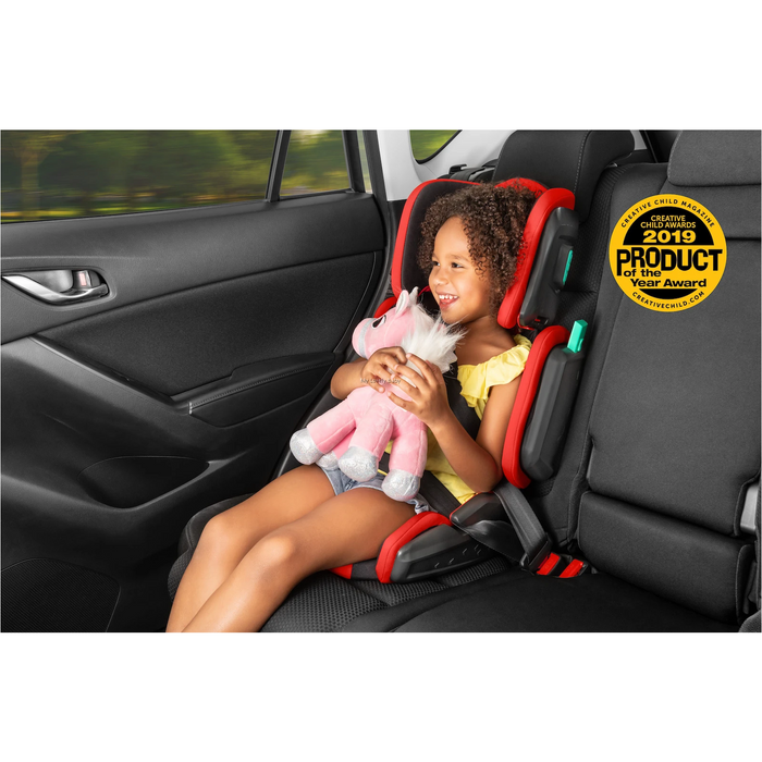 Hifold The Fit-And-Fold Booster Seat - Slate Grey
