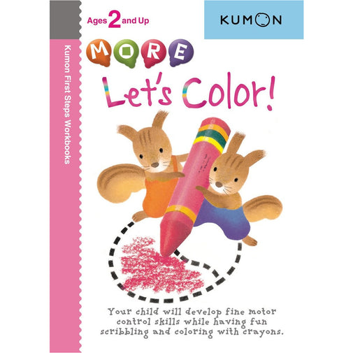 Kumon Books - More Let's Color!