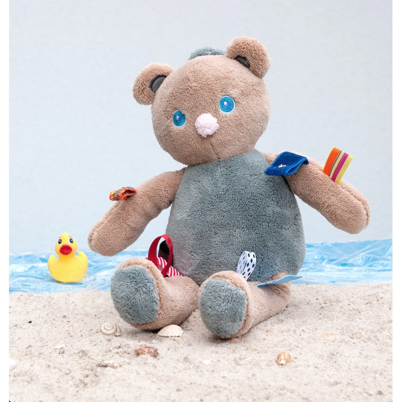 Snoozebaby Musical Toy - Magoo the Cuddling Bear - Little Baby