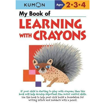 Kumon My Book of Learning with Crayons