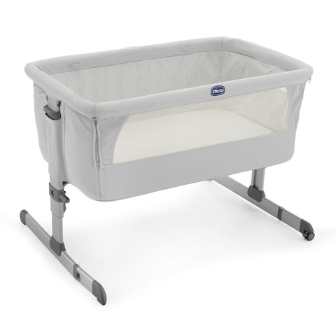 Chicco Next2me Co-Sleeping Crib - Light Grey 0m+