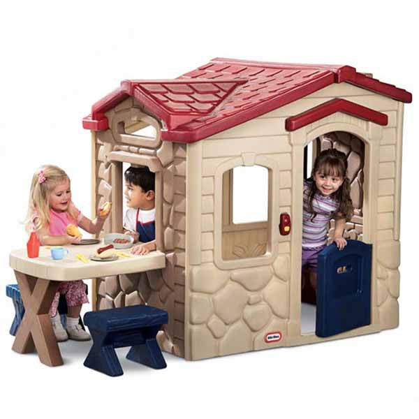 Little Tikes PICNIC ON THE PATIO Playhouse - Little Baby