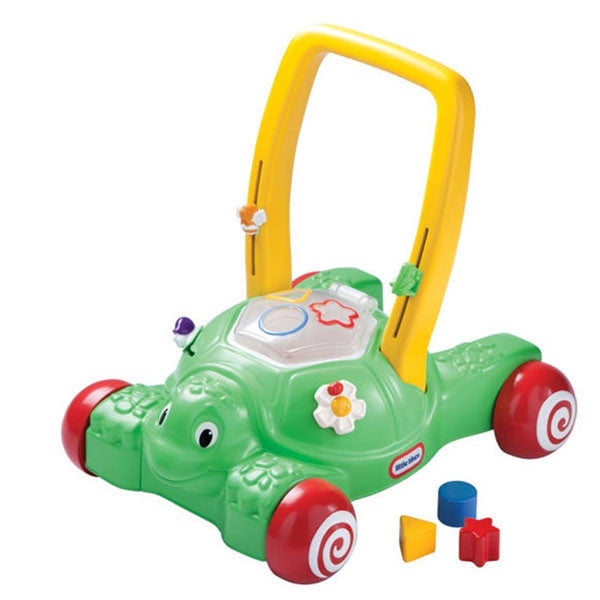 Little tikes 2 in 1 push 39 n play turtle for Little tikes 2 in 1 buildin to learn motor workshop