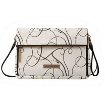 Petunia Pickle Bottom Crossover Clutch: Doodle