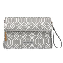 Petunia Pickle Bottom Crossover Clutch: Quartz