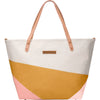 Petunia Pickle Bottom Downtown Tote Diaper Bag: Birch/Macaroon