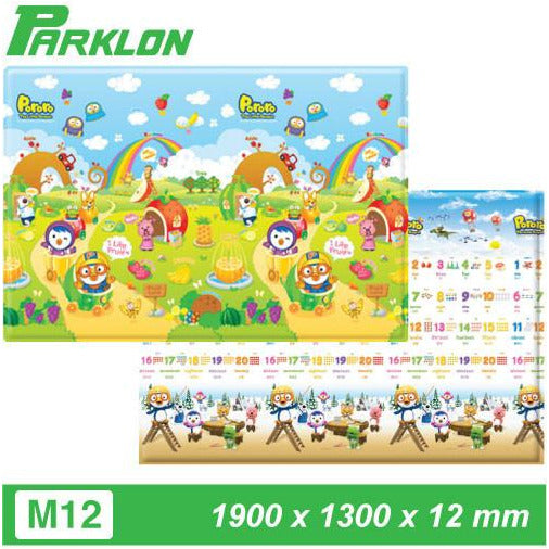 Parklon Playmat - PORORO FRUITLAND 123 - Little Baby Singapore - 3