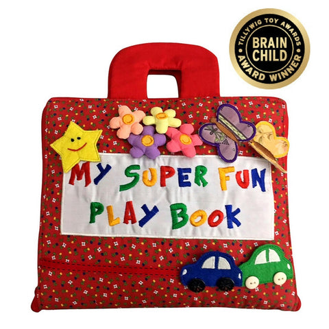 Smart Mama - My Super Fun Play Book (100% Handmade with Quality)