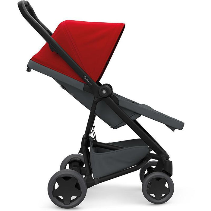 Quinny QN1398993000 ZAPP FLEX PLUS Stroller - Red on Graphite