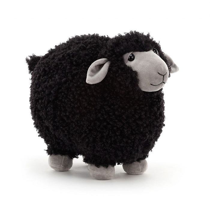 JellyCat Rolbie Black Sheep - Medium H28cm
