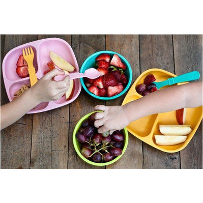 Re-Play Utensils 4 sets Forks & Spoons - Primary