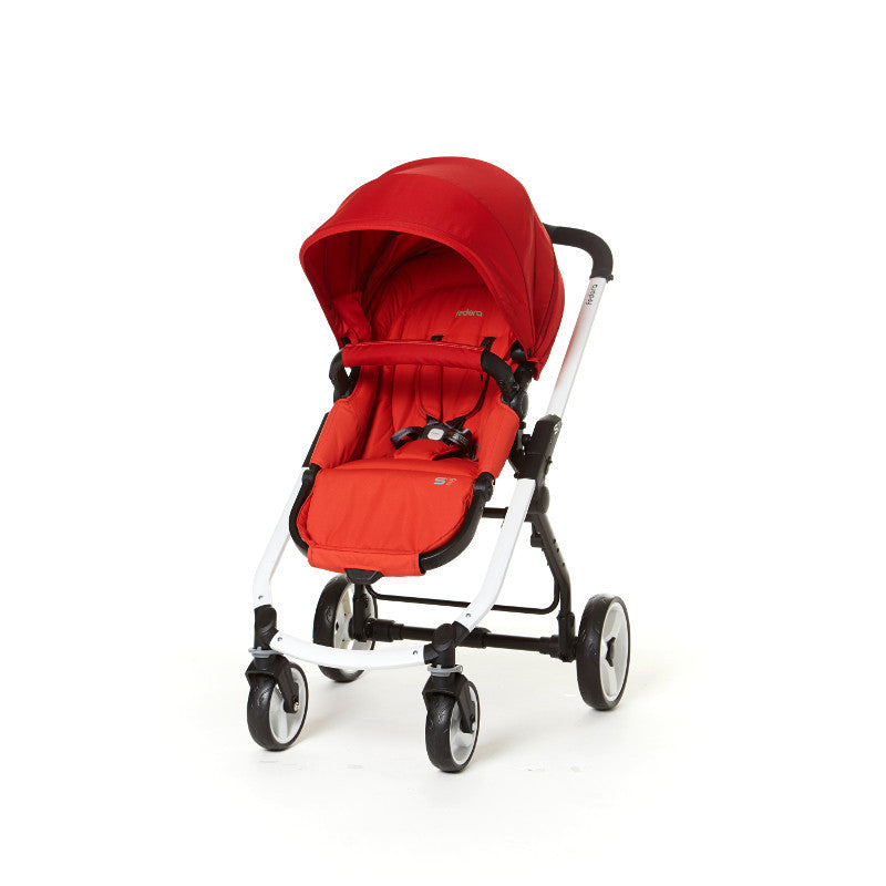 Fedora S7 Stroller - Cherry Red - Little Baby Singapore