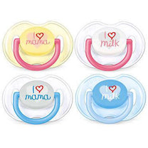 Philips Avent Classic Pacifiers (0-6mths) - Little Baby