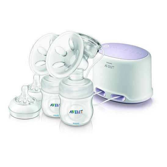 Philips Comfort Double Electric Breast Pump SCF 334/02 - Little Baby Singapore - 8