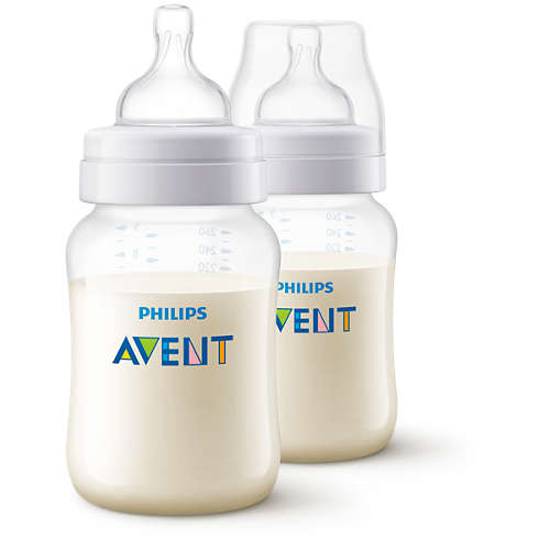 Philips Avent Classic+ Twin Baby Bottle 9oz/260ml SCF563/27